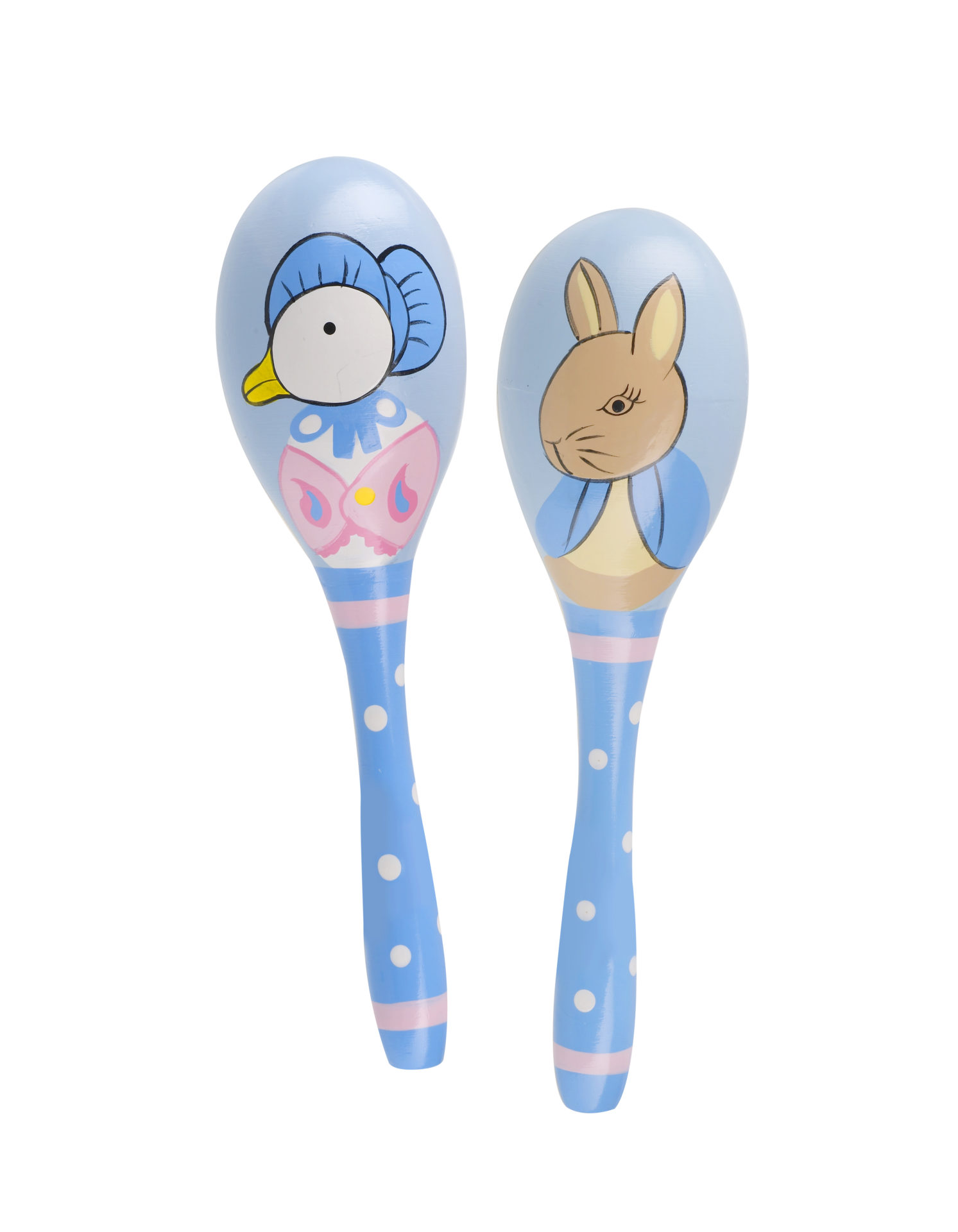 peter rabbit maraca set