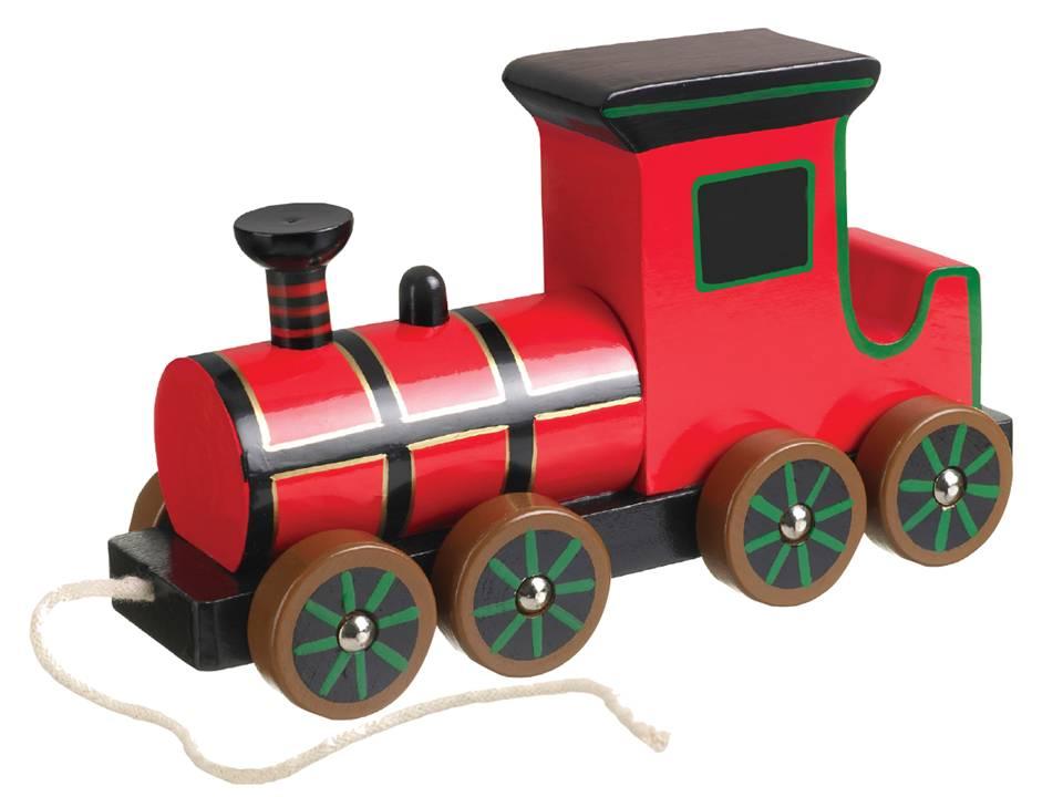 Pull Along Steam Train