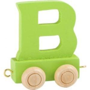 green train letter B