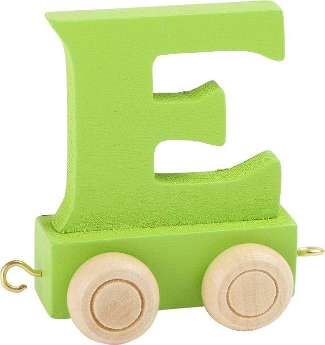 green train letter E