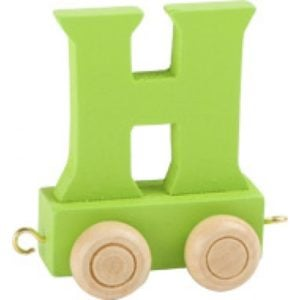 green train letter H