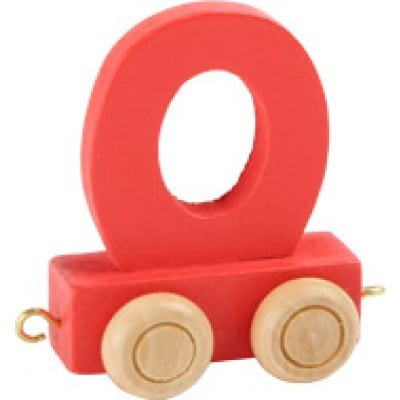 red train letter O