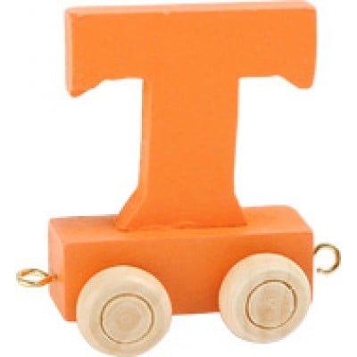 orange train letter T