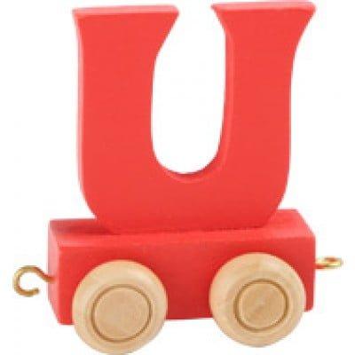 red train letter U