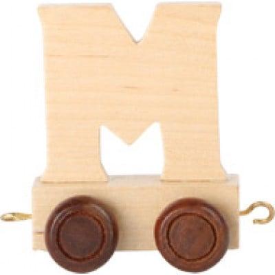 train letter M