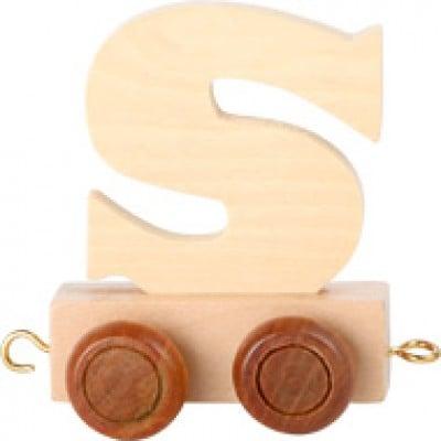 Train letter S