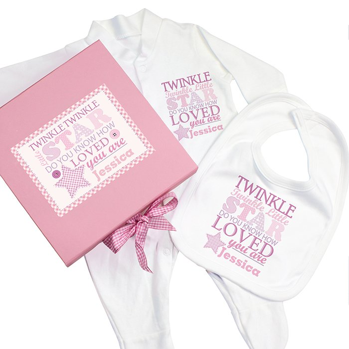 Twinkle Pink Baby Gift Set