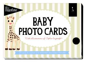 Sophie the Giraffe Baby Cards
